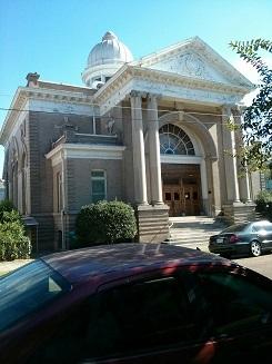 Synagogue in Natchez